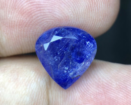 *NR*8.4(ct)Nice Color Included yet Attractive Tanzanite Faceted Gemstone