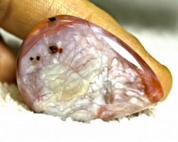 54.65 Carat Rose Agate Cabochon (40mm) - Gorgeous
