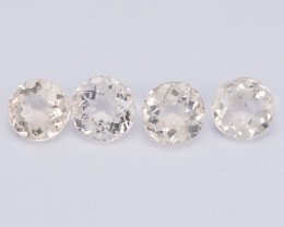 Morganite 1.84 Cts 4Pcs Amazing Rare Natural Peach Pink Color Gemstones- Pa