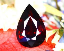 Almandine 4.30Ct Natural Vivid Blood Red Almandine Garnet  E0704/B26