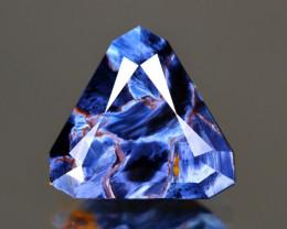 Pietersite 4.63Ct Trillion Cut Natural Namibia Meuve Blue Pietersite C0406