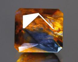 Pietersite 7.70Ct Master Cut Natural Namibia Meuve Blue Pietersite C0422