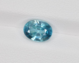 Natural Blue Zircon 2.17 Cts Good Quality from Cambodia