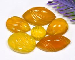 Honey Opal 40.86Ct Designer Cut Natural Madagascar Honey Opal C0425