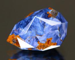 Pietersite 3.78Ct Master Cut Natural Namibia Meuve Blue Pietersite  C0433