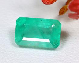 Muzo 1.61Ct Octagon Cut Natural Colombian Green Muzo Emerald C0435