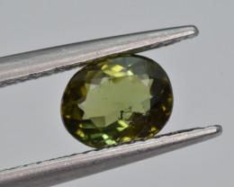 Natural Green Tourmaline 1.04 Cts Good Quality Gemstone
