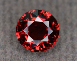 AAA Brilliance 0.90 ct Red Zircon Ring Size