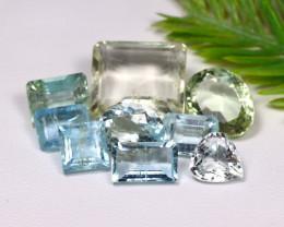 Aquamarine 25.16Ct Natural Blue Color Aquamarine Lot B0509