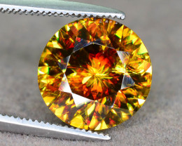 Presenting Increadible Fire 3.75 ct Natural Expensive Sphene Amaizing Piece