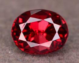 Top Grade 2.15 ct Fancy Cut Red Garnet