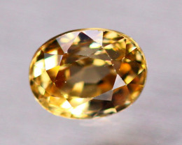 1.92ct Natural Yellow Zircon Oval Cut Lot  LZ237