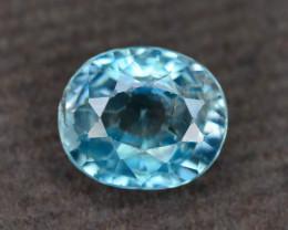 AAA Brilliance 1.50 ct Blue Zircon Cambodia ~ K