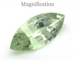 2.04ct Marquise Mint Green Garnet from Merelani, Tanzania