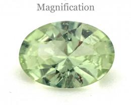 0.71ct Oval Mint Green Garnet from Merelani, Tanzania