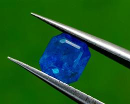 1.02CT RARE TOP BLUE APATITE BEST QUALITY GEMSTONE IIGC129