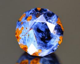 Pietersite 8.31Ct Master Cut Natural Namibia Meuve Blue Pietersite A0623