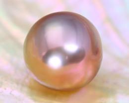 11.8mm 11.37Ct Natural Oceania South Sea Purplish Pink Pearl A0631