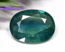 Sapphire 8.24Ct Oval Cut Natural Madagascar BiColor Sapphire A0602