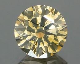 *NR* Natural Yellow Brown Diamond 0.64Ct.