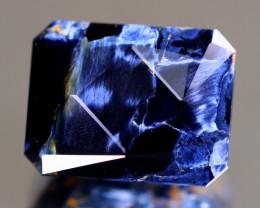Pietersite 10.14Ct Master Cut Natural Namibia Meuve Blue Pietersite B0630