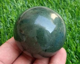 1198 Cts Beautiful Bone Nephrite Healling Sphere From Pakistan