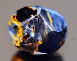 Pietersite 20.54Ct Master Cut Natural Namibia Meuve Blue Pietersite C0626