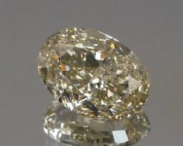 *$NR* Natural Fancy Brownish Greyish Green Diamond 0.96Ct.
