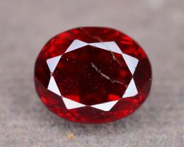 Top Luster  3.50  ct Fancy Cut Vivid Red Garnet