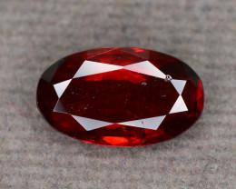Vivid Orangish Red 2.15 ct Fancy Cut Red Garnet