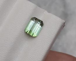 HGTL Certified 1.74 Carats Natural Tourmaline Nice Cut Gemstone