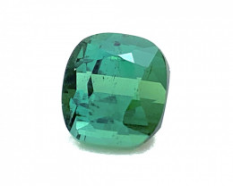 2.10 Carats Top Quality Blue green tourmaline cut stone available for sale