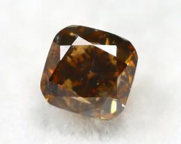 Intense Orange Diamond 0.24Ct Natural Untreated Genuine Diamond B0737