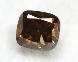 Yellowish Orange Diamond 0.36Ct Natural Untreated Genuine Diamond A0738