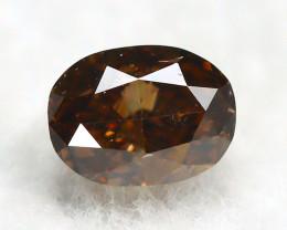 Champagne Diamond 0.22Ct Natural Untreated Genuine Diamond A0740