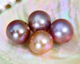 36.25Ct Grad B Natural Oceania South Sea Purplish Pink Pearl B0704