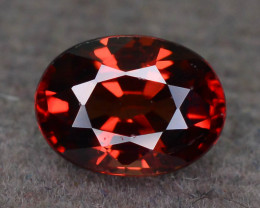 AAA Brilliance 1.45 ct Red Zircon