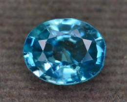AAA Brilliance 1.75 ct Blue Zircon Ring Piece