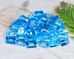 Swiss Topaz 85.51Ct Natural Brazil Swiss Blue Topaz Parcel C0722