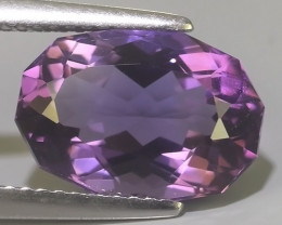 4.10  CTS  NATURAL ULTRA RARE LUSTER PURPLE AMETHIYST GEM!!