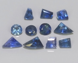 0.48 cts  Excellent Natural Intense Beautiful blue Sapphire