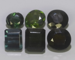 7.90 CTS AWESOME NATURAL GREEN TOURMALINE EXCELLENT GEM!!