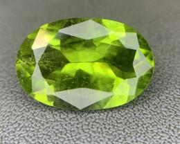 6.52 ct Natural Green Peridot