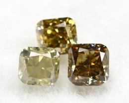 Yellowish Orange Diamond 0.25Ct Natural Untreated Genuine Diamond B0840