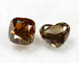 Yellowish Orange Diamond 0.31Ct Natural Untreated Genuine Diamond B0842