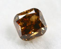Intense Orange Diamond 0.21Ct Natural Untreated Genuine Diamond B0845