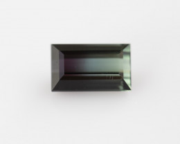 Bi colour Tourmaline, from Nigeria, rare gems very special, #B3BI-14