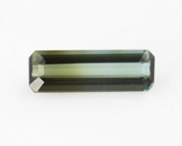 Bi colour Tourmaline, from Nigeria, rare gems very special, #B3BI-19