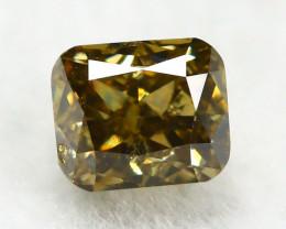 Yellowish Orange Diamond 0.20Ct Natural Untreated Genuine Diamond C0842