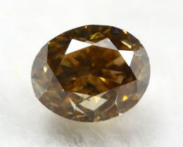 Yellowish Brown Diamond 0.25Ct Natural Untreated Genuine Diamond C0845